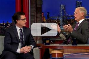 VIDEO: Sneak Peek at Stephen Colbert's Appearance on THE LATE SHOW Tonight