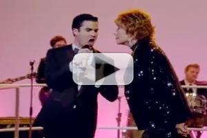VIDEO: First Look - Darren Criss, Shirley MacLaine Duet on Next GLEE!