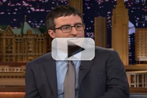 VIDEO: John Oliver Talks New Show & More on JIMMY FALLON
