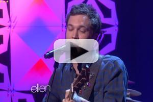 VIDEO: Phillip Phillips Performs New Single 'Raging Fire' on ELLEN