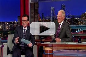 VIDEO: Stephen Colbert Reads Top 10 List on Last Night's LATE SHOW