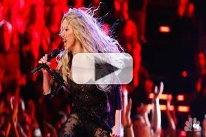 VIDEO: Shakira Performs New Single 'Empire' on THE VOICE