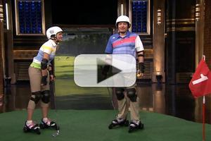 VIDEO: Cameron Diaz Plays Roller Golf, Talks New Film on JIMMY FALLON