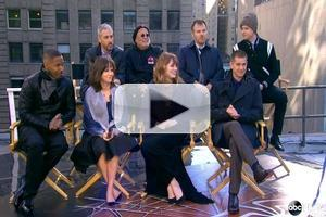 VIDEO: AMAZING SPIDER MAN's Stone, Garfield, Fox & More Visit GMA