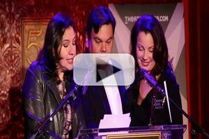 BWW TV: Inside the 2014 Drama Desk Nominations with Fran Drescher and Robert & Kristen Anderson-Lopez!
