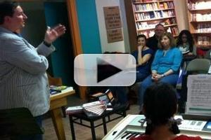 VIDEO: Roy Sexton Book Signing at Ann Arbor's Bookbound