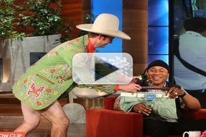 VIDEO: Sneak Peek -  LL Cool J Get Special Gift on Today's ELLEN