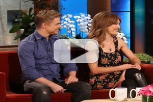Video Amy Purdy Amp Derek Hough Talk Dancing With The