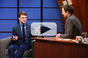 VIDEO: Daniel Radcliffe Talks CRIPPLE OF INISHMAAN on 'Seth Meyers'