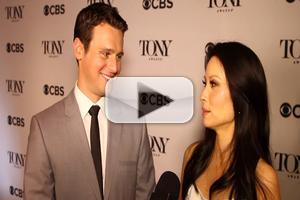 BWW TV: Lucy Liu and Jonathan Groff Share Stories from Tonys Morning- Behind the Scenes of the Nominations!