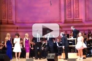 STAGE TUBE: Original HAIRSPRAY Cast Reunites for 'You Can't Stop the Beat' at Carnegie Hall