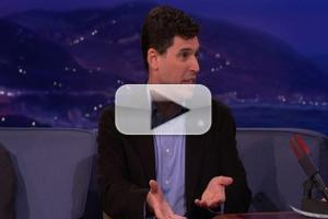 VIDEO: Max Brooks Reveals Why He's Obsessed With Zombies Tonight's CONAN