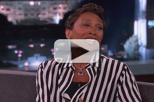 VIDEO: Robin Roberts Reveals How JIMMY KIMMEL Played Role in Her Recovery