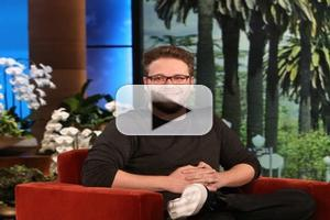 VIDEO: Seth Rogan Talks Performing at Kanye's Wedding on Today's ELLEN