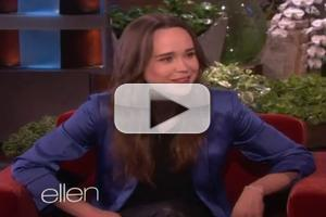 VIDEO: Ellen Page Talks Coming Out Publicly on ELLEN