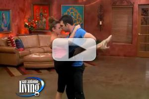 STAGE TUBE: EVITA Cast Teaches San Antonio to Tango!