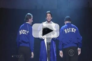 VIDEO: Andy Karl & ROCKY Cast Perform 'Keep on Standing' on 'Letterman'