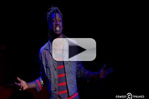 VIDEO: HOLLER IF YA HEAR ME's Saul Williams Chats Role; Performs on 'Colbert'