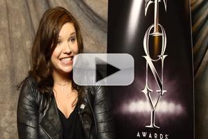 BWW TV Exclusive: Meet the 2014 Tony Nominees- Mary Bridget Davies on Crying 'Happy Tears' Over Her Nomination