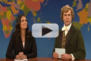 STAGE TUBE: SATURDAY NIGHT LIVE's 1860s Newspaper Critic Takes on the Tonys