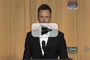 VIDEO: Joel McHale Roasts Obama, Christie, and More at the White House Correspondents Dinner