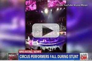 VIDEO: 9 Circus Acrobats Injured Due to Snapping Cable