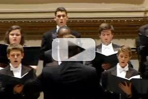 STAGE TUBE: Kristin Chenoweth Helps Bring Broken Arrow Students to Carnegie Hall