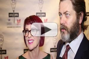 BWW TV: On the Red Carpet for the 2014 Lucille Lortel Awards with Megan Mullally, Nick Offerman & More!