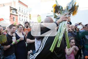 STAGE TUBE: SOUTH STREET SPRING FESTIVAL's Marriage Proposal Heard Around the City
