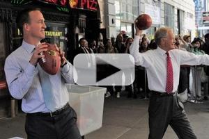 VIDEO: Peyton Manning Explains 'Omaha' Play Call on LETTERMAN
