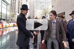 VIDEO: Zach Braff & BULLETS OVER BROADWAY Cast Perform 'T'aint Nobody's Biz-ness' on Today