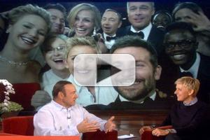 VIDEO: Kevin Spacey Talks Famous Oscar Selfie on ELLEN