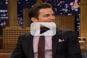 VIDEO: Matt Bomer Talks HBO's THE NORMAL HEART on Fallon