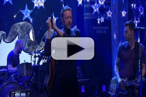 VIDEO: Coldplay Performs New Single 'Magic' on TONIGHT