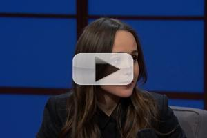 VIDEO: Ellen Page Talks X-MEN & More on 'Seth Meyers'