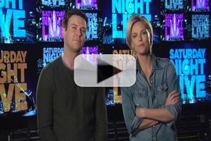 VIDEO: First Look - Host Charlize Theron Promos This Week's SNL!