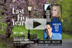 STAGE TUBE: In Rehearsal with Long Wharf Theatre's THE LAST FIVE YEARS