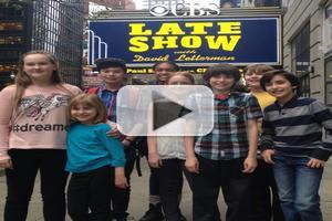 TV: Nancy Carson's Stellar Young Clients Sing on David Letterman with Foster The People