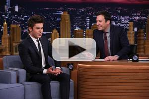 VIDEO: 'Neighbors' Star Zac Efron Talks Taking His Shirt Off for Seth Rogen on FALLON