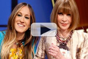 VIDEO: Sarah Jessica Parker & Anna Wintour Critique Met Gala Fashions on LATE NIGHT