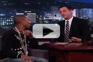 VIDEO: Jimmy Kimmel & Pharrell Williams Compete in 'Twofie' Shootout!