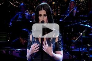 VIDEO: IF/THEN's Idina Menzel Sings 'You Learn to Live Without' on 'Letterman'
