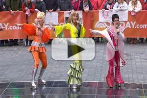 VIDEO: Cast of Broadway's MAMMA MIA Performs Medley on 'Today'