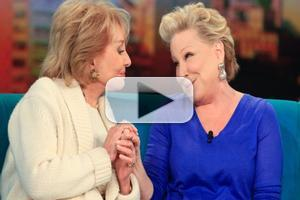 VIDEO: Bette Midler Serenades Barbara Walters on THE VIEW