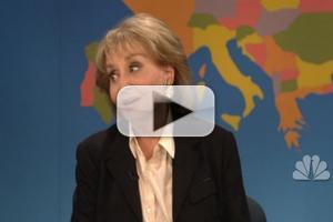 VIDEO: Barbara Walters Roasts Herself on SNL