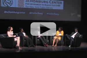 STAGE TUBE: Cast & Crew of HOLLER IF YA HEAR ME on Bringing Tupac to Broadway at Schomburg Center's Theater Talk Panel