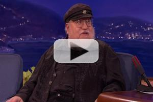 VIDEO: George R. R. Martin Reveals He Still Uses a DOS Word Processor on Tonight's CONAN