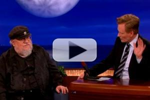 VIDEO: George R.R. Martin Shares 'Game of Thrones' Spin-Off Idea on CONAN