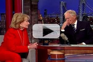 VIDEO: Barbara Walters & David Letterman Will 'Ride Off Into the Sunset Together'