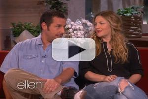 VIDEO: Adam Sandler & Drew Barrymore Talk New Film 'Blended' on ELLEN